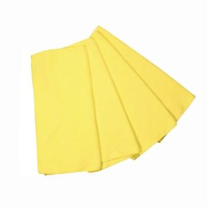 "Knuckle Buster Microfiber Towels, 12"" x 12"", Yellow, 12 Towels (ACA-MFMP12YE)"