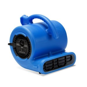 B-Air Vent Power VP-25 Compact High Velocity Air Mover, Blue, Each (VP-25-BLUE)