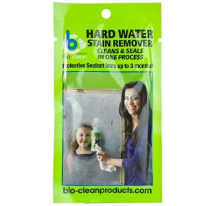 Bio-Clean Trial Size Hard Water Stain Remover, 1 Oz., 25 Pouches (WSR1)