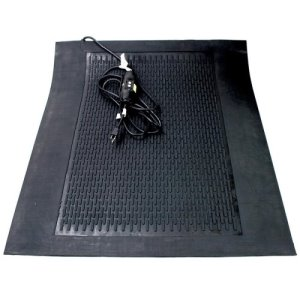 Cozy Products Ice Away Snow Melt Mat, Non-Slip, Black, Each (ICE-Snow)