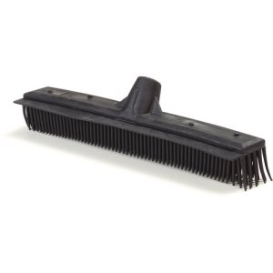 "Carlisle VersaClean™ Brush w/ Squeegee 16"", Black, 12/Case (3659603)"