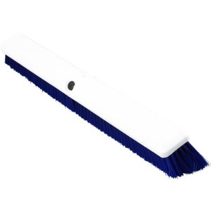 "Carlisle Spectrum Omni 24"" Floor Sweep, Blue, 12 Sweeps (4189114)"
