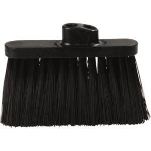 Carlisle Duo Sweep Broom (Head Only) Black, 12 Broom Heads (3685403)