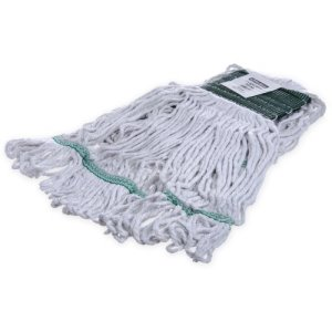 Carlisle Flo-Pac Medium Green Band Mop With Looped-End (369418B00)