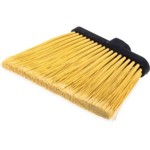 Carlisle Medium Duty Angle Broom (Head Only), Natural, 12 Broom Heads (3686700)