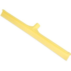 "Carlisle Sparta Single Blade Squeegee 24"" - Yellow (3656804)"