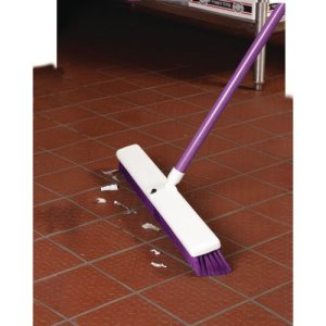 "Carlisle Spectrum Omni 24"" Floor Sweep, Purple, 12 Sweeps (4189168)"