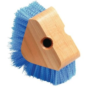 Carlisle Triangle Scrubber With Polypropylene Bristles - Blue (36196614)