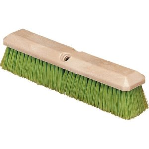 "Carlisle Vehicle Wash Brush With Nylex Bristles 14"" - Green (36121475)"
