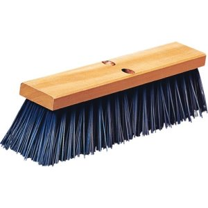 "Carlisle Flo-Pac 16"" Heavy Polypropylene Sweep 16"" - Blue (3611401614)"