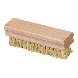 "Carlisle Hand And Nail Brush With Polypropylene Bristles 1-1/2 X 5"" - off white (4550042)"