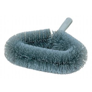 Carlisle Wide Soft-Flagged Wall Duster With PVC Bristles - Gray (36340100)