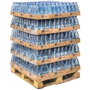 Crystal Geyser 1.25L Original Sparkling Spring Water, 12/Case, 55 Cases(40007PL)