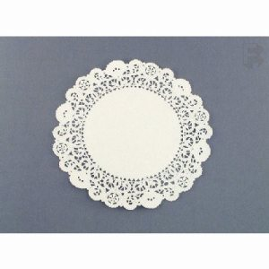 "Solo 10"" Round Lace Doilies - White Bond (10/500), 5,000 Dolles (FOR-0248)"