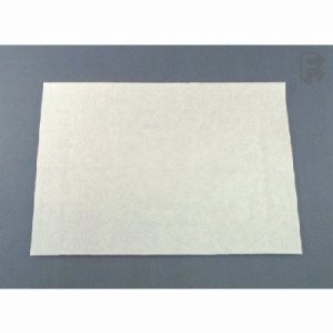 "Solo/Hoffmaster White Bond Embossed Placemat - 10"" X 14"" Straight Edge, 1000/Case (FOR-0251)"