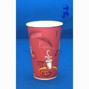 Solo 12 Oz. Hot Cup - Bistro - Poly Coated, 1,000 Cups (FOR-0462)