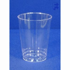 WNA, Inc. 7 Oz. Tall Tumbler - Beverage Clear Smooth Wall Rigid (20/25), 500/Case (FOR-3802)