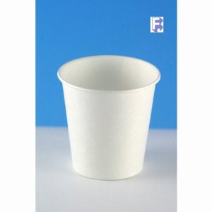 Solo Unprinted 3 Oz. Water Cup - Flat Bottom - Dry Wax Treated (24/100), 2400/Case (FOR-0820)