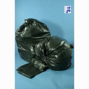 "Berry Plastics 30 Gallon Black Garbage Bags, 30"" X 36"", 250 Bags (FOR-2900)"