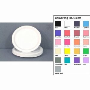 "Converting Inc Mimosa 7"" Paper Plate Retail Packs, Yellow, 10 Packs (FOR-1205)"