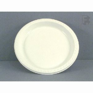 "Huhtamaki Chinet 9"" Plates - High Impact, 500 Plastic Plates (FOR-1407)"