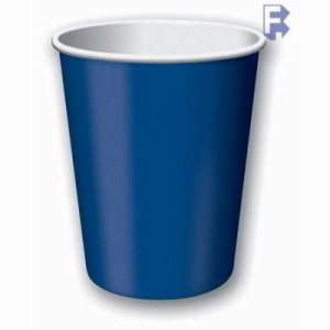 Converting Inc 9 oz. Paper Cups, Navy Blue, 240 Cups (FOR-1501)