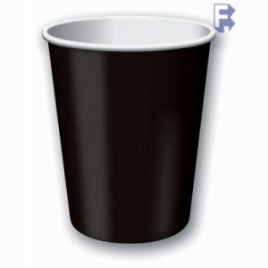 Converting Black Velvet 9 Oz. Paper Cup - Retail Pack, 240 Cups (FOR-1521)