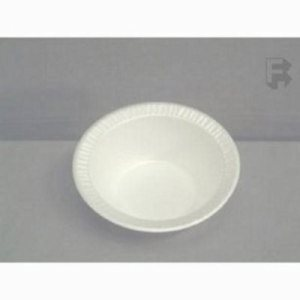 Dart 5-6 Oz. Concorde Foam Bowl - Non-Laminated, 1,000 Bowls (FOR-2059)