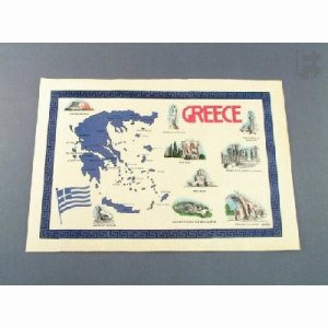 Solo/Hoffmaster Greece Placemats, Straight Edge, 1000 Placemats (FOR-2280)