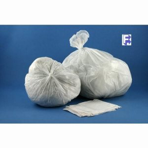 "Berry Plastics 36"" X 58"" Clear Lldpe Liner - 55 Gallon, 200/Case (FOR-2732)"
