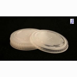 Dart Conex Translucent Straw Slot Lid - Fits 12Sn And 14N Conex (10/100), 1000/Case (FOR-2807)