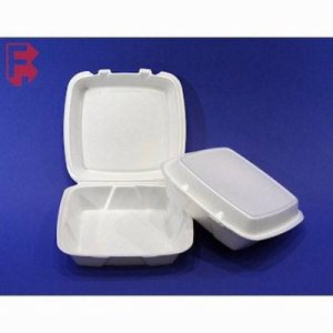 Dart Large Foam Takeout Containers, White, 200 Containers (FOR-3344)