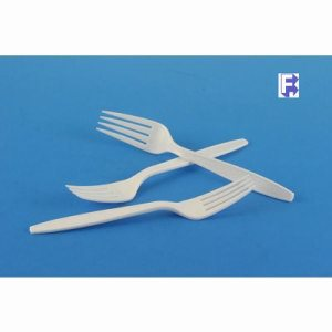 Imported Plastics Extra Heavy Weight Plastic Fork - 1,000 Forks (FOR-0876)