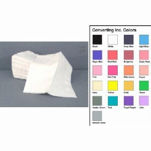 "Converting Inc White Dinner Napkin - 16"" X 16"" 2 Ply - White - Retail Pack (12/50), 12/Case (FOR-3559)"