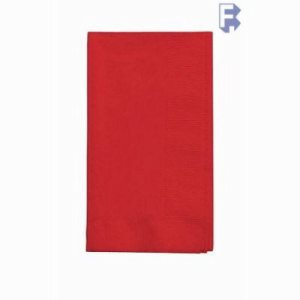 "Converting Inc Classic Red Dinner Napkin - 16"" X 16"" 2 Ply - Real Red - Retail Pack (12/50), 12/Case (FOR-3567)"
