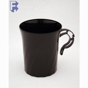 WNA, Inc. 8 Oz. Black Coffe Mug - Classicware (24/8), 192/Case (FOR-3830)