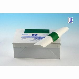 "Royal Paper Products Green Paper Napkin Bands - 1-1/2"" X 4-1/4"" (8/2500), 20000/Case (FOR-4071)"