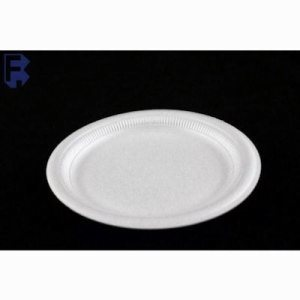 "Solo Cup 9"" Plate - White Non-Laminated Tableware (4/125), 500/Case (FOR-4126)"