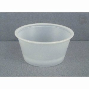 Fabri-Kal 2 Oz. Plastic Portion Cups - Translucent, 2,500 Cups (FOR-4291)