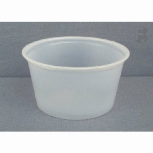 Fabri-Kal 3.25 Oz. Plastic Portion Cups - Polystyrene, 2,500 Cups (FOR-4293)