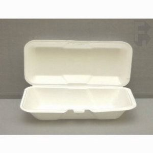 Genpak Large Foam Hoagie Containers - White, 200 Hoagie Containers (FOR-4636)