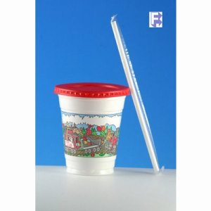 Solo Cup Plastic Kids Cup Combo Pack Jungle Design - 250 Kid Cups (FOR-4642)