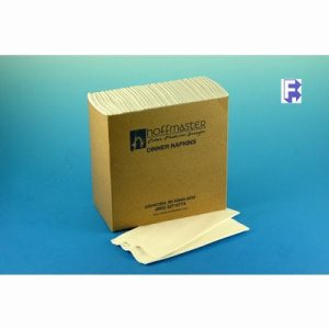 Hoffmaster White Linenlike Dinner Napkin, 300 Napkins (FOR-4814)