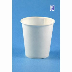 Solo 3 Oz. Water Cup - White - Treated Paper (50/100), 5000/Case (FOR-5240)