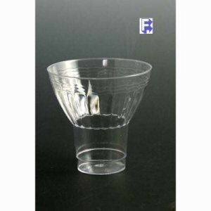 Yoshi-Ware, Inc. 9 Oz. Parfait Cup - Clear (12/20), 240 Parfait Cups (FOR-6562)
