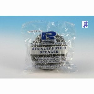 ACS Stainless Steel Sponges, Individually Wrapped, 72 Sponges (FOR-6952)
