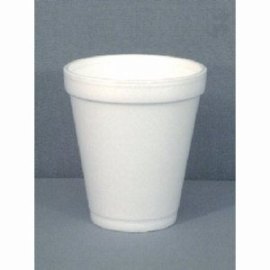 Dart 12 Oz. White Foam Cup - Use 16 Series Lid, 1,000 Foam Cups (FOR-7153)