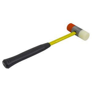 MAG-MATE No-Mar Press-On Polyurethane Tip Hammer with Fiberglass Handle (HP100)