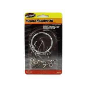Sterling Picture Hanging Kit, 24/Pack (KOLE-MO053)