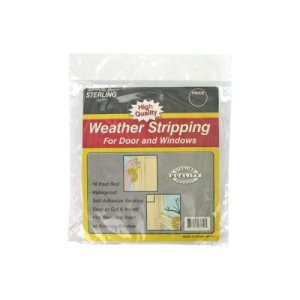 Sterling Foam Weather Stripping Tape, 12/Pack (KOLE-MT121)